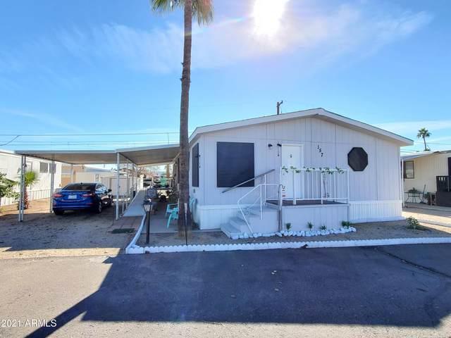 16005 N 32nd Street #157, Phoenix, AZ 85032 (MLS #6188177) :: The Laughton Team