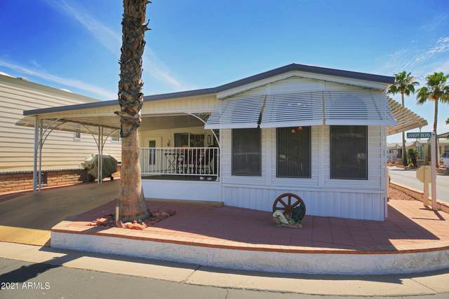 111 S Greenfield Road #470, Mesa, AZ 85206 (MLS #6188562) :: D & R Realty LLC
