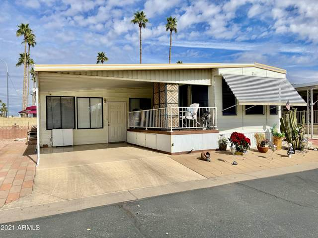 7750 E Broadway Road #672, Mesa, AZ 85208 (MLS #6189672) :: Long Realty West Valley