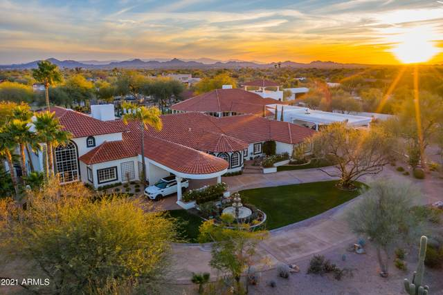 8185 E Alameda Road, Scottsdale, AZ 85255 (MLS #6190244) :: The Laughton Team
