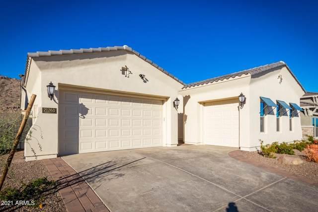 21260 W Hillcrest Boulevard, Buckeye, AZ 85396 (MLS #6190364) :: Keller Williams Realty Phoenix