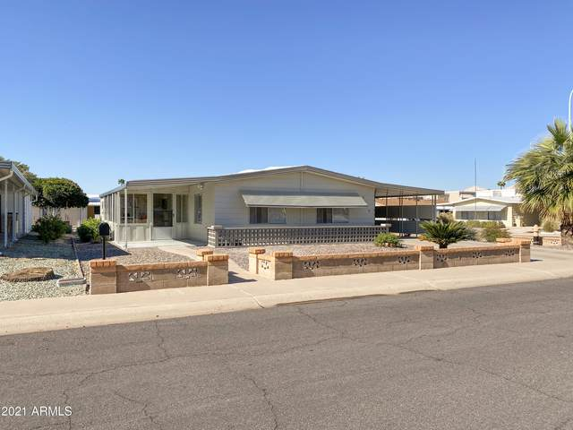 2548 N Barber Drive, Mesa, AZ 85215 (MLS #6190790) :: Long Realty West Valley