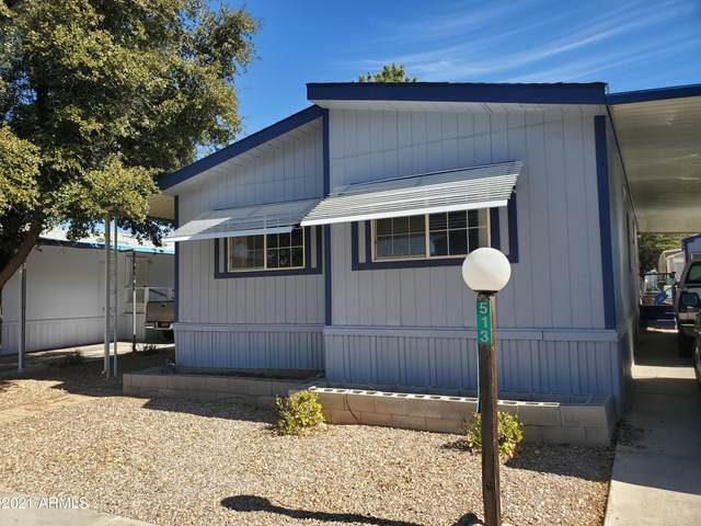 513 S Little Bear Trail, Sierra Vista, AZ 85635 (MLS #6190985) :: Long Realty West Valley
