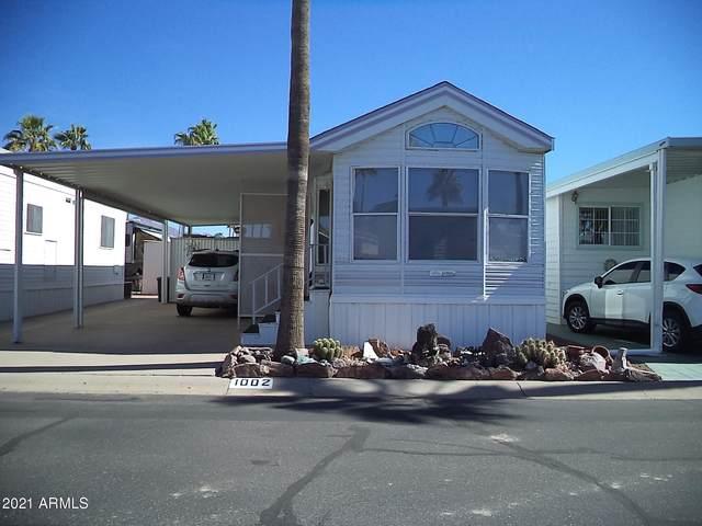 1002 S Propsector Drive, Apache Junction, AZ 85119 (MLS #6191483) :: The Laughton Team