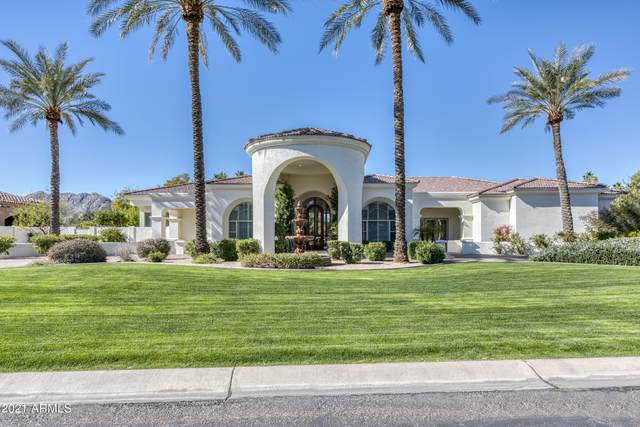 9590 N 55th Street, Paradise Valley, AZ 85253 (MLS #6191789) :: Synergy Real Estate Partners
