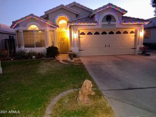 113 W Smoke Tree Road, Gilbert, AZ 85233 (MLS #6191953) :: Keller Williams Realty Phoenix