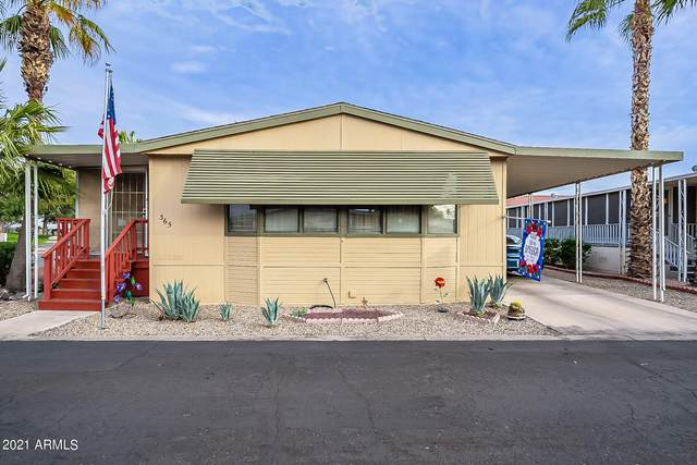 11596 W Sierra Dawn Boulevard #365, Surprise, AZ 85378 (MLS #6192541) :: Nate Martinez Team