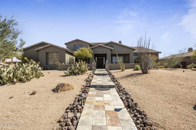 5731 E Blue Sky Drive, Scottsdale, AZ 85266 (MLS #6193028) :: Yost Realty Group at RE/MAX Casa Grande