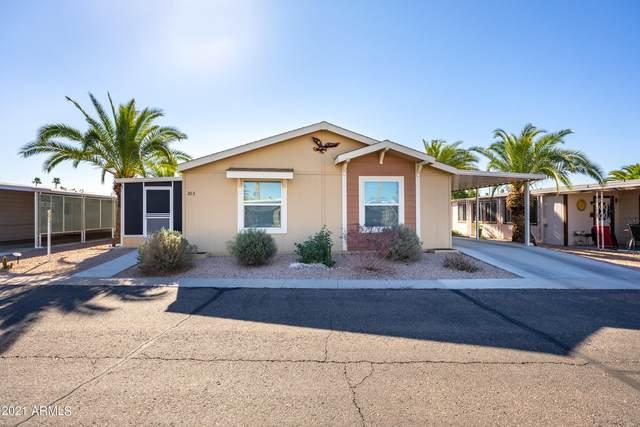 3104 E Broadway Road #303, Mesa, AZ 85204 (MLS #6193743) :: Nate Martinez Team