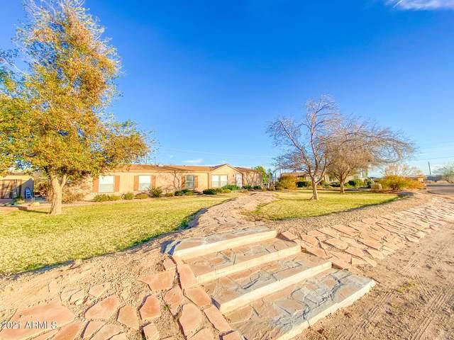 2615 S 195TH Drive, Buckeye, AZ 85326 (MLS #6194002) :: Devor Real Estate Associates