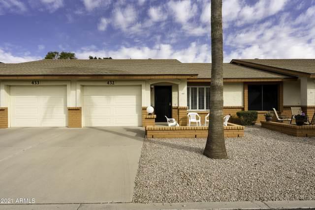 8255 E Kiva Avenue #432, Mesa, AZ 85209 (MLS #6194199) :: The Laughton Team