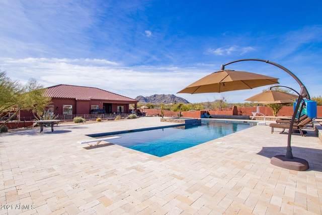 13806 E Old Paint Trail, Scottsdale, AZ 85262 (MLS #6195688) :: BVO Luxury Group