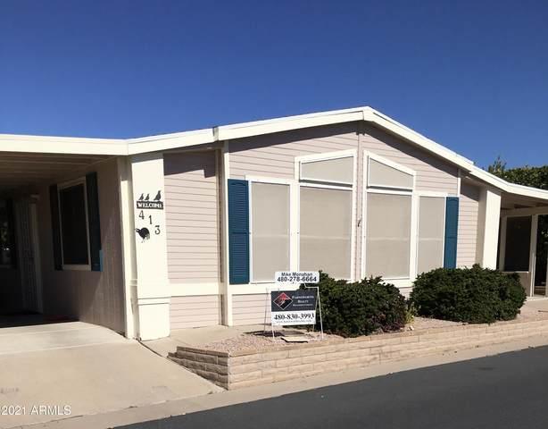 5735 E Mcdowell Road #413, Mesa, AZ 85215 (MLS #6195840) :: Yost Realty Group at RE/MAX Casa Grande