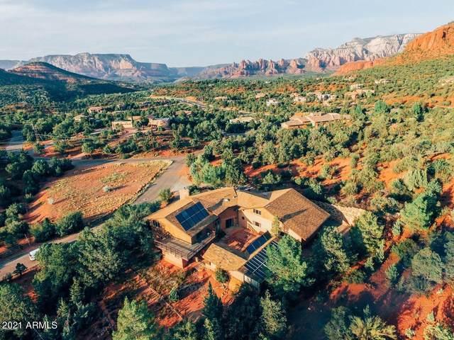 115 Cathedral Rock Trail, Sedona, AZ 86336 (MLS #6195874) :: Yost Realty Group at RE/MAX Casa Grande