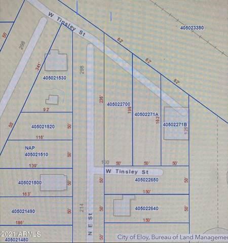 115 W Tinsley Street, Eloy, AZ 85131 (MLS #6196256) :: The Laughton Team