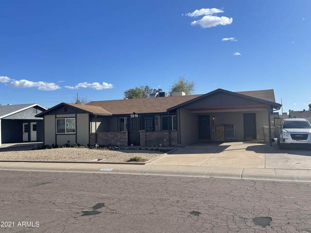 5919 W Monte Cristo Avenue, Glendale, AZ 85306 (MLS #6196361) :: The Riddle Group
