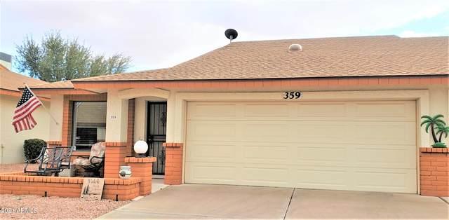 8160 E Keats Avenue #359, Mesa, AZ 85209 (MLS #6196371) :: The Ethridge Team