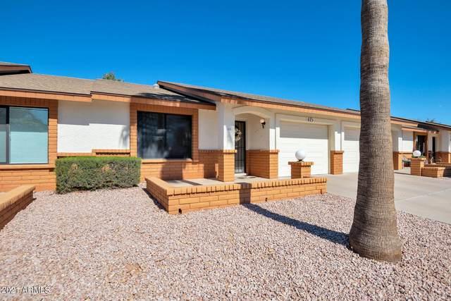 8256 E Kiva Avenue #415, Mesa, AZ 85209 (MLS #6197249) :: The Ethridge Team