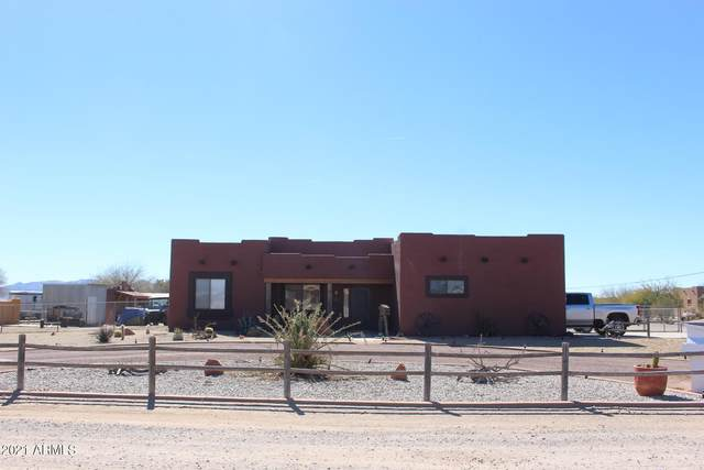 28022 N 251ST Avenue, Wittmann, AZ 85361 (MLS #6197749) :: Yost Realty Group at RE/MAX Casa Grande