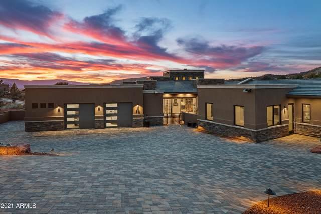 50 N Primrose Point Lots 54 & 61 Point, Sedona, AZ 86336 (MLS #6197792) :: Yost Realty Group at RE/MAX Casa Grande
