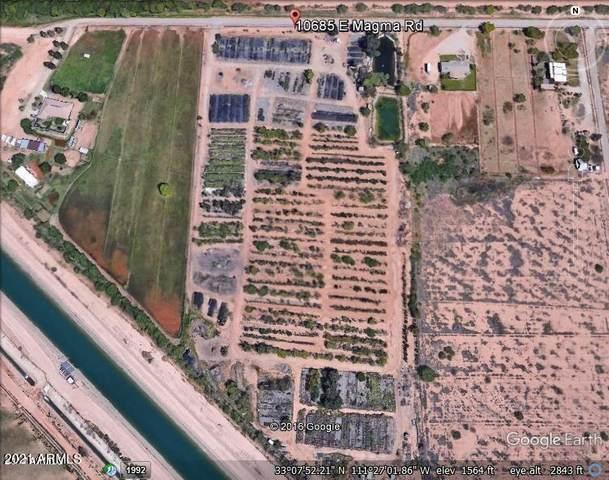 10685 E Magma Road, Florence, AZ 85132 (MLS #6198197) :: Yost Realty Group at RE/MAX Casa Grande
