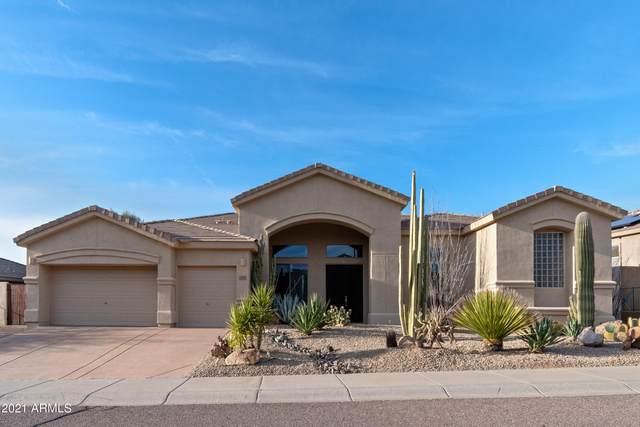 11448 E Blue Sky Drive, Scottsdale, AZ 85262 (MLS #6198660) :: The Laughton Team