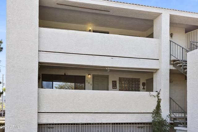214 E Ruth Avenue #209, Phoenix, AZ 85020 (MLS #6198795) :: Yost Realty Group at RE/MAX Casa Grande