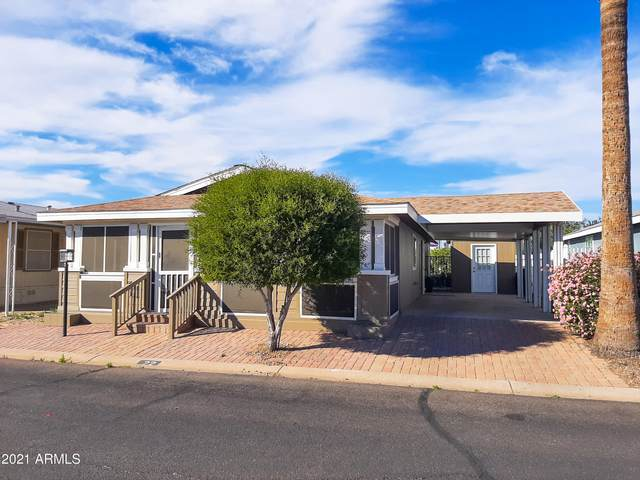 11411 N 91ST Avenue #22, Peoria, AZ 85345 (MLS #6198934) :: Devor Real Estate Associates