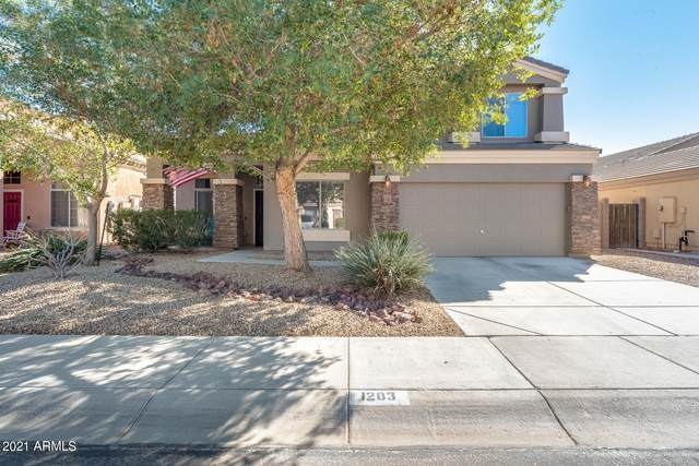 1283 W Beacon Court, Casa Grande, AZ 85122 (MLS #6199307) :: Midland Real Estate Alliance
