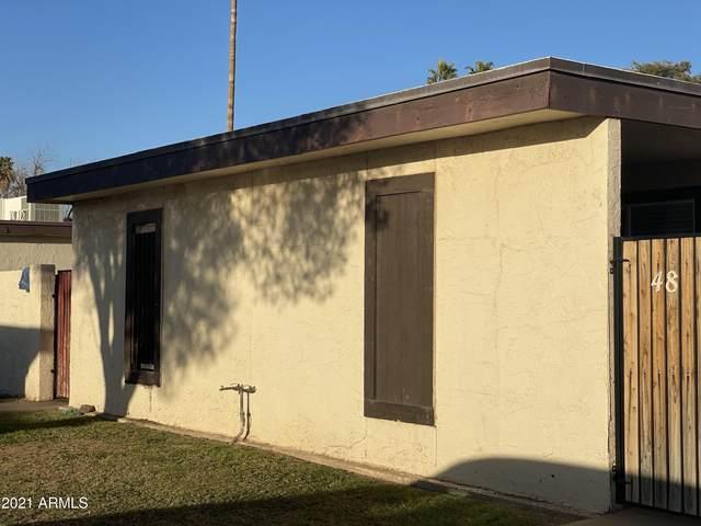 830 S Dobson Road #48, Mesa, AZ 85202 (MLS #6199682) :: The Ethridge Team