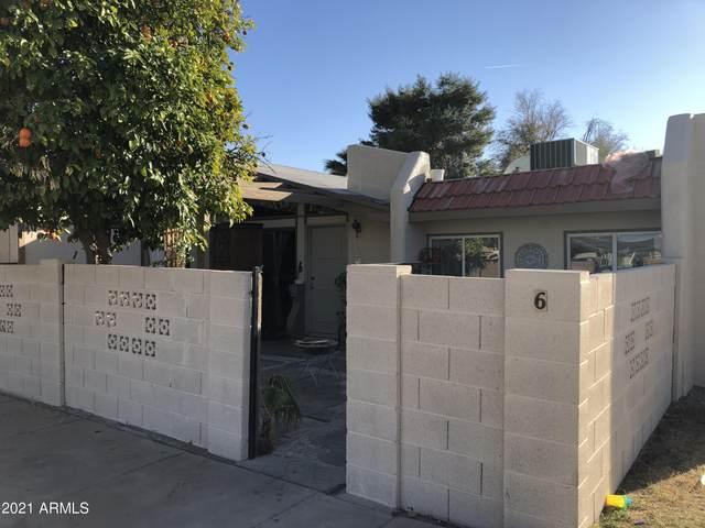 2130 W Camino Street #6, Mesa, AZ 85201 (MLS #6199750) :: The Laughton Team