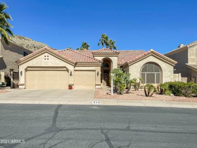 516 E Silverwood Drive, Phoenix, AZ 85048 (MLS #6199876) :: Arizona Home Group