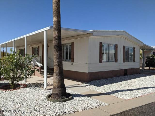 2900 W Superstition Boulevard Ofc, Apache Junction, AZ 85120 (MLS #6200943) :: The Laughton Team