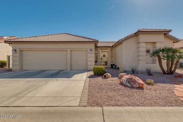 9509 E Rocky Lake Drive, Sun Lakes, AZ 85248 (MLS #6201117) :: Yost Realty Group at RE/MAX Casa Grande