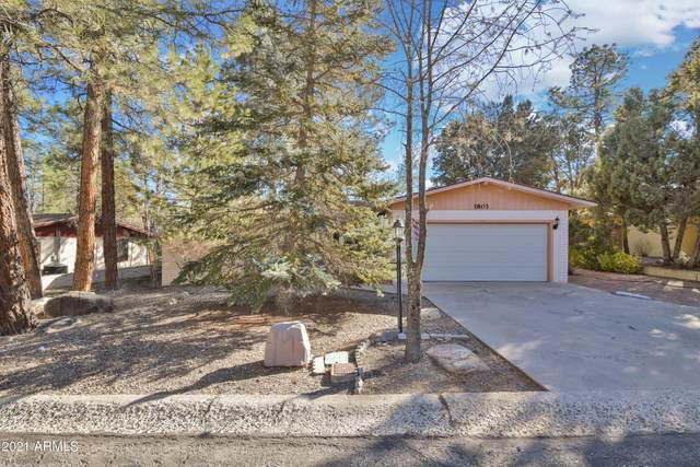 1803 Forest Meadows Drive, Prescott, AZ 86303 (MLS #6201225) :: Executive Realty Advisors