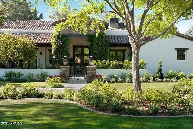 6537 E Gainsborough Road, Scottsdale, AZ 85251 (MLS #6201510) :: Midland Real Estate Alliance