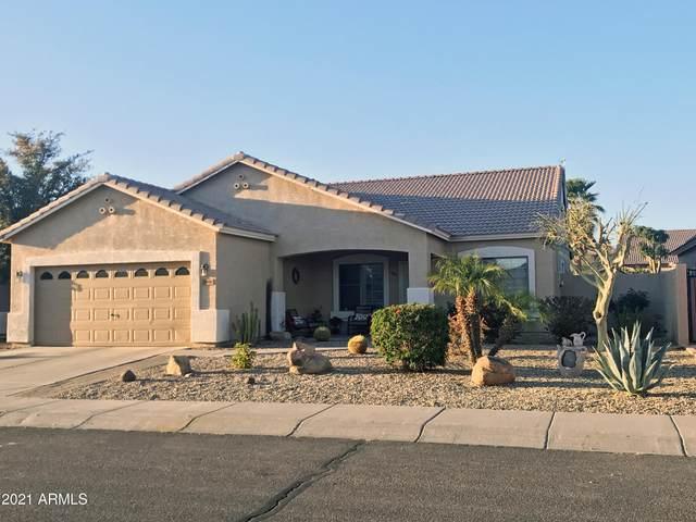 1598 E Desert Breeze Drive, Casa Grande, AZ 85122 (#6201717) :: Long Realty Company