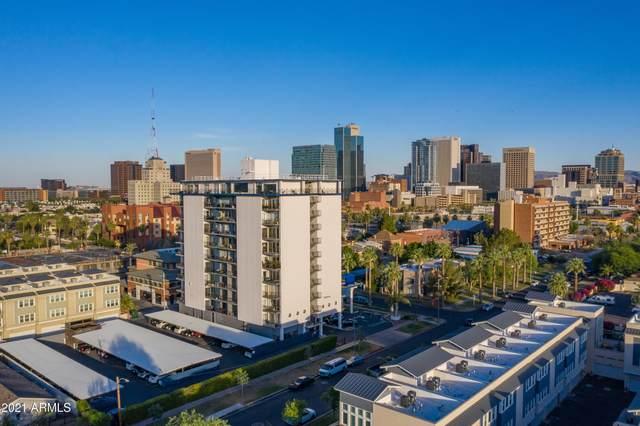 805 N 4TH Avenue #706, Phoenix, AZ 85003 (MLS #6202497) :: Nate Martinez Team