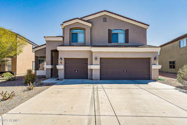 35809 W Marin Avenue, Maricopa, AZ 85138 (MLS #6203301) :: Midland Real Estate Alliance