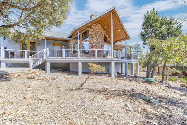 6682 W Buffalo Run, Pine, AZ 85544 (MLS #6203657) :: Devor Real Estate Associates