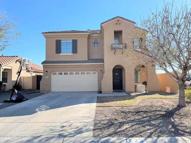 1723 W Dugan Drive, Queen Creek, AZ 85142 (MLS #6203905) :: Executive Realty Advisors