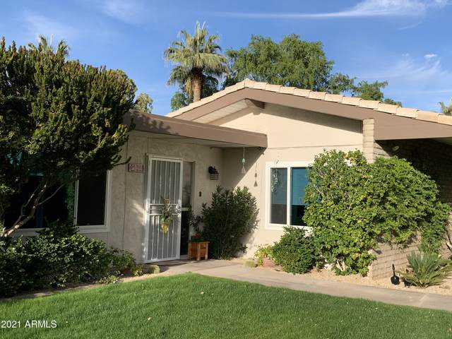 4800 N 68TH Street #162, Scottsdale, AZ 85251 (MLS #6204396) :: Executive Realty Advisors