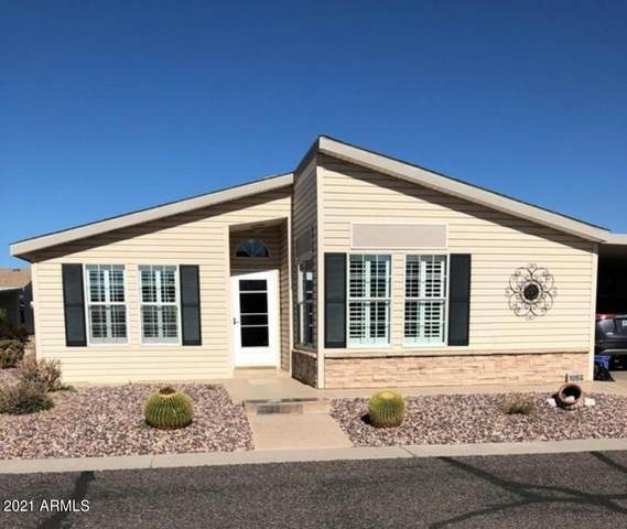 3301 S Goldfield Road #1056, Apache Junction, AZ 85119 (MLS #6204464) :: Midland Real Estate Alliance