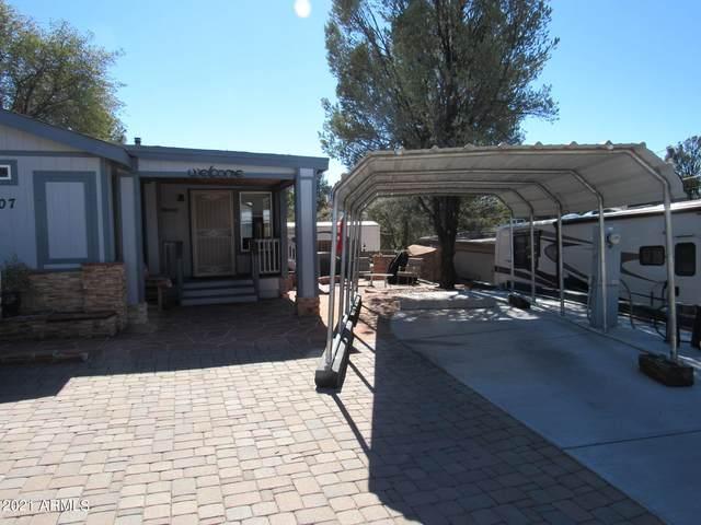 907 E Park Drive, Payson, AZ 85541 (MLS #6205336) :: Yost Realty Group at RE/MAX Casa Grande