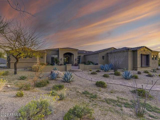 8557 E Nightingale Star Drive, Scottsdale, AZ 85266 (MLS #6205900) :: Yost Realty Group at RE/MAX Casa Grande