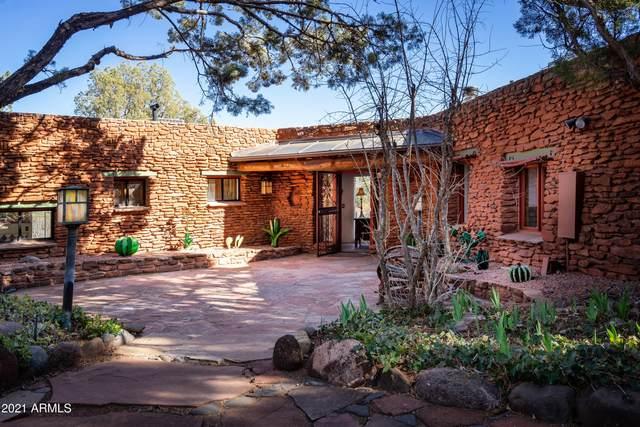 50 E Wing Drive, Sedona, AZ 86336 (MLS #6207295) :: Yost Realty Group at RE/MAX Casa Grande