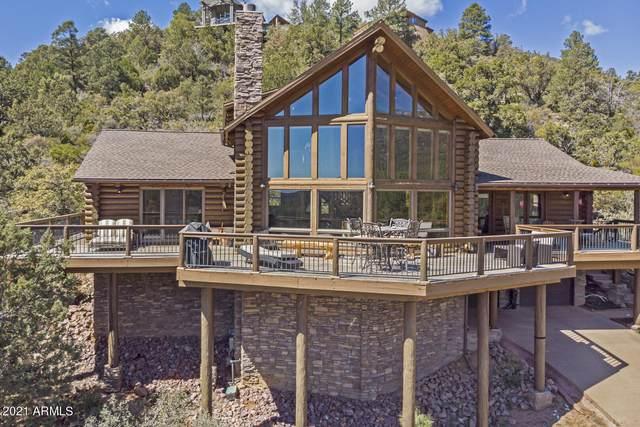4964 N Trails End Drive, Pine, AZ 85544 (MLS #6209874) :: Executive Realty Advisors