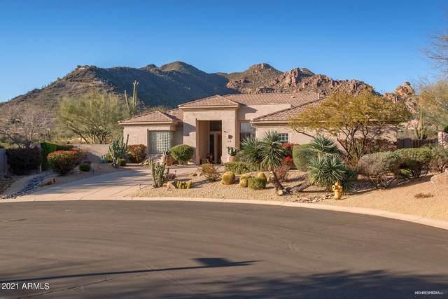 6694 E Whispering Mesquite Trail, Scottsdale, AZ 85266 (MLS #6210235) :: Devor Real Estate Associates
