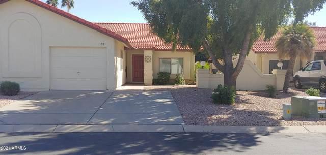 542 S Higley Road #63, Mesa, AZ 85206 (MLS #6210842) :: Long Realty West Valley
