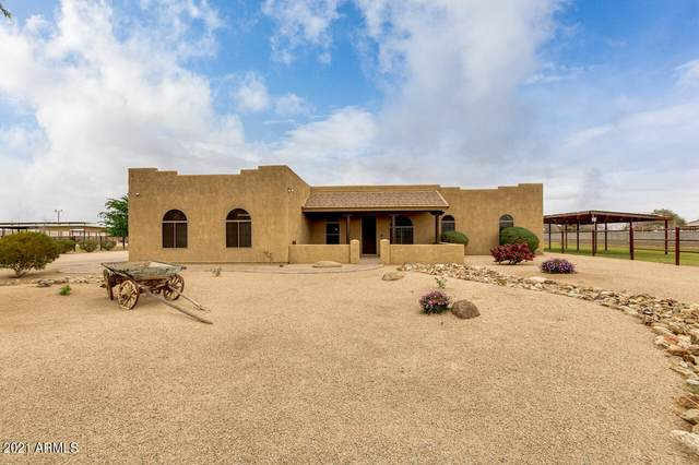 39533 N Kenworthy Road, San Tan Valley, AZ 85140 (MLS #6210996) :: Long Realty West Valley